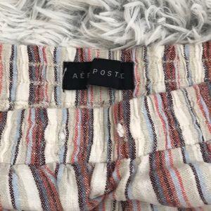 Aeropostale Shorts - Striped shorts